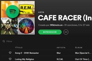 CAFE RIDER INDIE - PLAYLIST